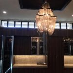 La Jolla Lutron home automation with undercounter LED lighting