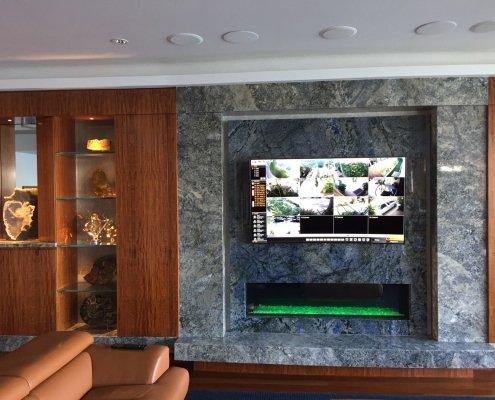 Coronado smart home with home audio video system