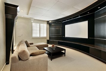 San Diego audio video with home theater installation